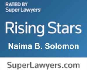 SuperLawyers.com Badge | Naima Solomon